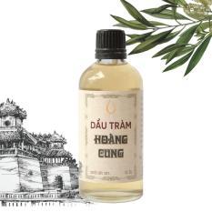Dầu tràm Huế nguyên chất Hoàng Cung 50ml (chai thủy tinh)