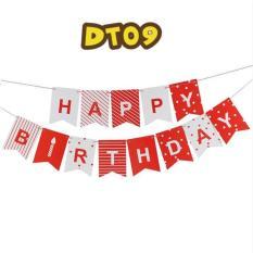 Hình ảnh Dây treo trang trí chữ happy birthday DT09