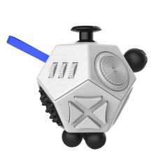 Hình ảnh Decompression Anti-Anxiety Fidget Dice Reduce Pressure Gift Creative Toy Gift - intl
