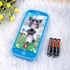 Hình ảnh Điện thoại Mèo Tôm cảm ứng cải thiện khả năng thị giác cho trẻ + Tặng bộ 10 đôi đũa tre Cao Phong