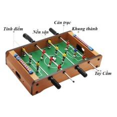 Hình ảnh Đồ chơi bàn bi lắc bóng đá Table Top Foosball (Gỗ)