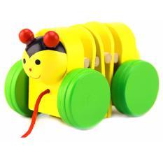 Hình ảnh Đồ chơi bằng gỗ - Chú sâu nhỏ màu ngẫu nhiên