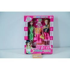 Hình ảnh Đồ chơi Búp bê Bộ đồ chơi 2 búp bê + váy