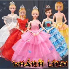 Hình ảnh Đồ chơi búp bê công chúa dễ thương + tặng kèm bộ phụ kiện cho búp bê
