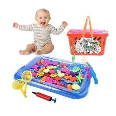Hình ảnh Đồ chơi câu cá kèm bể phao cho bé