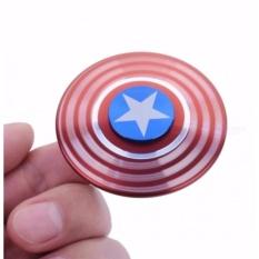 Hình ảnh Đồ Chơi Con Quay Cao Cấp Fidget Spinner Captain America ( Đội Trưởng Mỹ ) Cực Chất