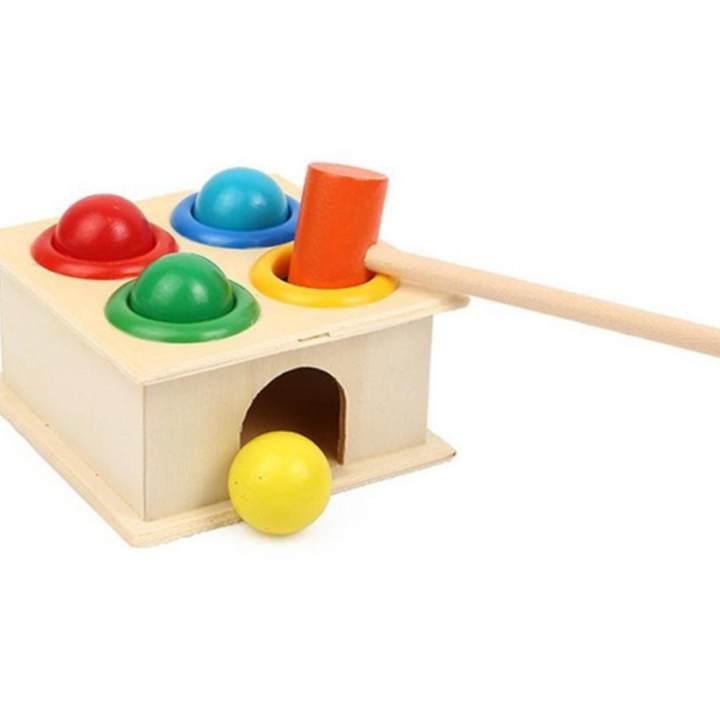 Đồ chơi đập bóng bằng gỗ - JEP HOUSE