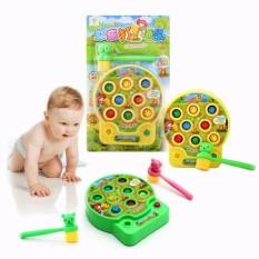 Hình ảnh Đồ chơi đập chuột cao cấp,do choi dap chuot,Bộ đồ chơi đập chuột tập phản xạ cho bé,bộ đồ chơi đập chuột có nhạc(kèm pin)