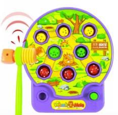 Hình ảnh Đồ chơi đập chuột phát nhạc Royal kid cho bé (tím)