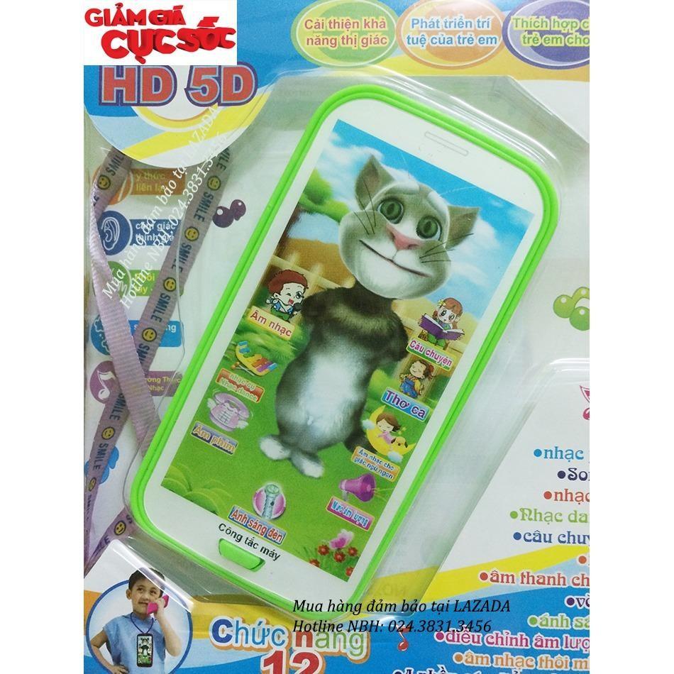 Hình ảnh Đồ chơi điện thoại Mèo Tôm kể chuyện phát triển cho bé