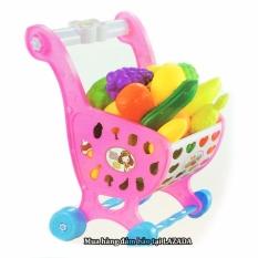 Hình ảnh Đồ chơi gắn xe đẩy - Đồ chơi xe đẩy siêu thị cho bé mẫu mới (màu ngẫu nhiên)