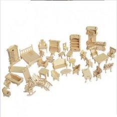 Hình ảnh Đồ chơi ghép hình 3D bằng gỗ 184 chi tiết cho bé