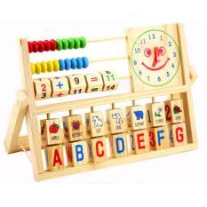 Deal Giảm Giá Đồ Chơi Giáo Dục  Wood Toys Bằng Gỗ đa Năng