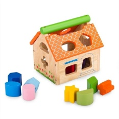 Hình ảnh Đồ chơi gỗ Nhà thả 12 khối Winwintoys C993