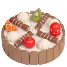 Hình ảnh Đồ chơi gỗ trang trí bánh sinh nhật