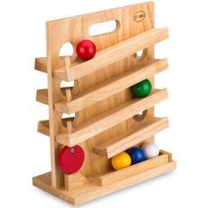 Hình ảnh Đồ chơi gỗ trò chơi lăn banh (60092)