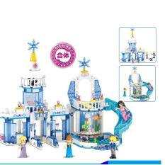 Hình ảnh Đồ chơi lắp ráp xây dựng Tòa lâu đài Fantasy Snow King 2 trong 1