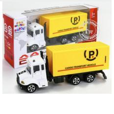 Hình ảnh đồ chơi mô hình xe container 15 x 4 x 4 cho bé trên 3 tuổi 016000047