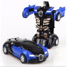 Hình ảnh Đồ chơi Ô tô biến hình thành Robot cao cấp(màu tùy ý) - Mẫu mới 2017