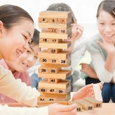 Hình ảnh Đồ chơi rút gỗ giúp trẻ phát triển tư duy