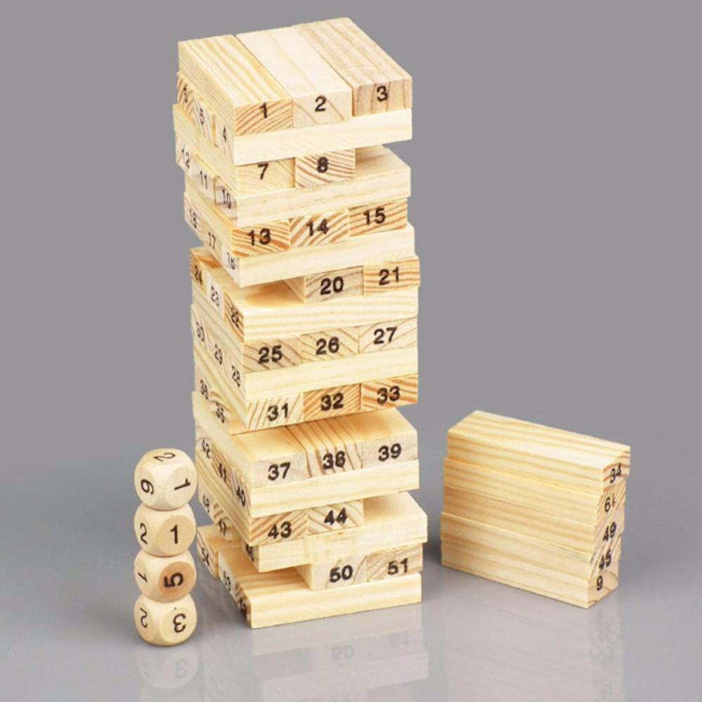 Hình ảnh Đồ chơi rút gỗ (Vàng)