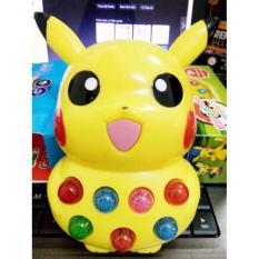 Hình ảnh Đồ chơi Pikachu kể chuyện và đập chuột cho bé (Vàng)