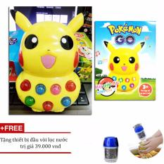 Hình ảnh Đồ chơi thông minh cho bé Pikachu + Tặng thiết bị đầu vòi lọc nước sạch VegaVN