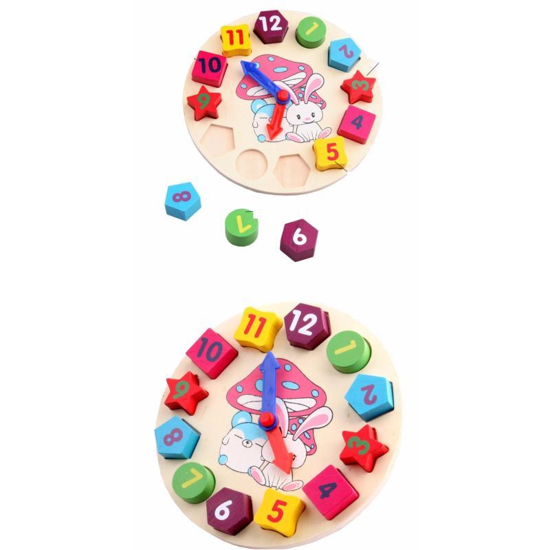 Đồ chơi toán học mô hình lắp ghép đồng hồ
