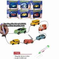 Hình ảnh Đồ chơi trẻ em xe ô tô tự động chạy theo hình vẽ (màu ngẫu nhiên) + Tặng lấy ráy tai