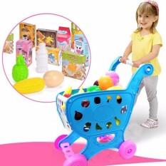 Hình ảnh Đồ chơi xe đẩy siêu thị cho bé giá rẻ ngộ nghĩnh