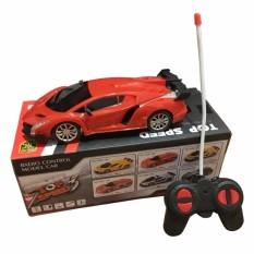 Hình ảnh Đồ chơi xe ô tô điều khiển từ xa LAMBOGRINI cho bé (Đỏ)