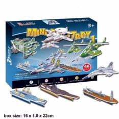 Đồ Chơi Xếp Hình 3D Puzzle 46 Chi Tiết Giá Cực Cool