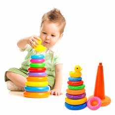 Hình ảnh Đồ chơi xếp vòng tháp cho bé ( Nhiều màu )