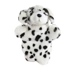 Hình ảnh Dog Hand Puppet Baby Educational Soft Doll Plush Toys (White) - intl(White)