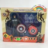 Chiết Khấu Đội Avenger Captain America Kt1225 Có Thương Hiệu