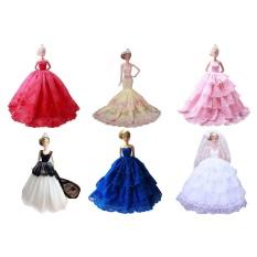 Hình ảnh Váy đầm, váy cưới cho búp bê Barbie, kiểu dáng ấp ngẫu nhiên- Quốc tế