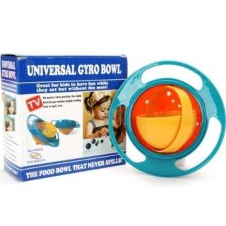 Dụng cụ đựng thức ăn thông minh 360 độ, chống lật đổ cho bé thumbnail
