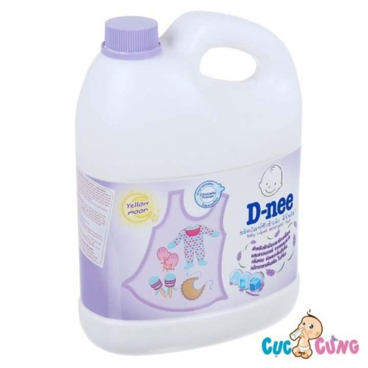 Nước giặt xả Dnee Thái Lan 3000ml (Tím) - nuoc...