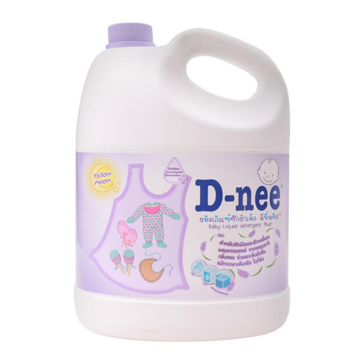 Dung dịch giặt xả quần áo D-nee Yellow Moon 3000ml