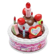 Hình ảnh electric kid birthday music cake toy candle can be blown out - intl