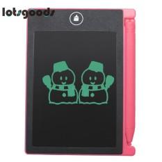 Hình ảnh Điện tử 4.4 inch MÀN HÌNH LCD Kỹ Thuật Số Vẽ Notepad eWriter Chữ Viết Tay Máy Tính Bảng-intl(Black)