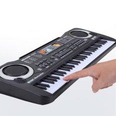 Hình ảnh Âm Nhạc điện tử Bàn Phím Đàn Piano 61 Phím Âm Nhạc Piano Điện W/Mic Di Động-quốc tế