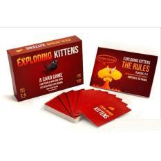 Hình ảnh Exploding Kitten Mèo nổ đỏ cơ bản