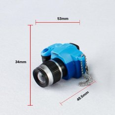 Hình ảnh Lạ mắt Giả Tưởng ống kính mới lạ Sáng Tạo SLR camera Led móc khóa Với Kaca âm thanh Móc Khóa Lạ Mắt đồ chơi Máy Ảnh Đồ Chơi Tuyệt Vời tặng -quốc tế