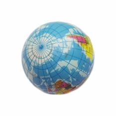 Hình ảnh Fancyqube 1 cái Xốp Cao Su Đồ Chơi Bản Đồ Thế Giới Xốp Quả Địa Cầu Tay Cổ Tay Giảm Căng Thẳng dùng Bóp Mút Mềm Mại bóng-quốc tế