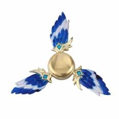 Hình ảnh Fancyqube Blue Wing Genji Hand Fidget Hand Spinner High Speed Focus Toy for Kids&Adults - intl