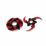 Ôn Tập Trên Fancyqube Japanese Anime Naruto Weapons High Quality 10Cm All Metal Syaringan Shuriken Naruto Kunai For Naruto Cosplay H09 Intl