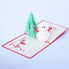 Hình ảnh Fancyqube Xuất Hiện 3D Pop Chúc Mừng Giáng Sinh Cây & Người Tuyết Lễ Tạ Ơn Năm Mới Ngày Lễ-quốc tế