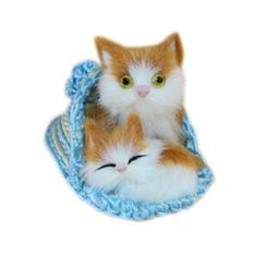 Hình ảnh Fang fang 10*6 cm Mô Phỏng Dép Nhồi Bông Chó Mèo Sang Trọng Đồ Chơi Trẻ Em Đồ Trang Trí Sinh Nhật Quà Tặng Tốt Nhất-quốc tế