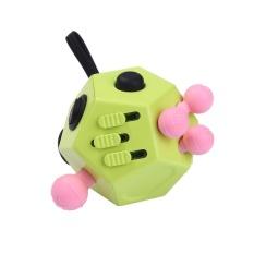 Hình ảnh Fidget Cube II Giảm Lo Lắng giảm Stress 12 mặt Xúc Xắc Dành Cho Người Lớn Trẻ Em Còn Hàng-quốc tế